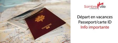 Passeport ou carte d'identité perdu puis retrouvé ? Attention !