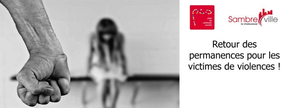 Reprise des permanences pour les victimes de violences à la Maison de la Cohésion Sociale !