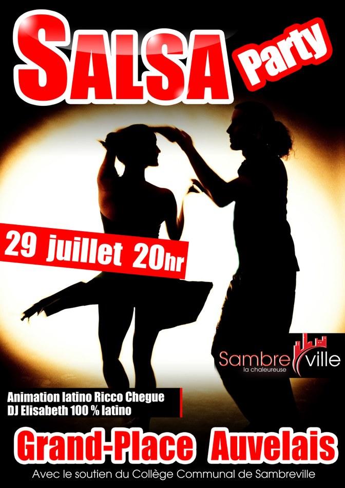 Affiche Salsa